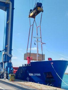 OOG HL cargo shipment